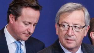 Die Deutschen stehen hinter Juncker