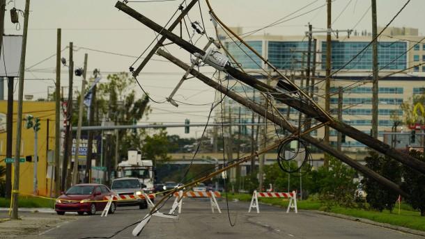 Stromversorgung in einigen Haushalten in New Orleans wiederhergestellt