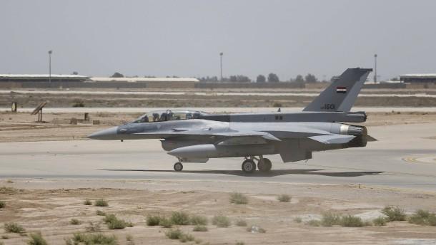 Raketenangriff auf Luftwaffenstützpunkt nahe Bagdad