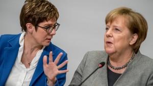 Merkel nimmt nicht an Flüchtlingsgespräch der CDU teil