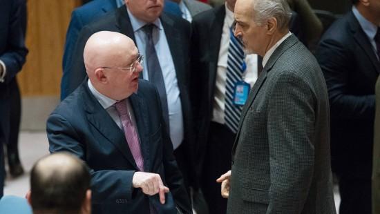 Gibt es eine Waffenruhe in Syrien?