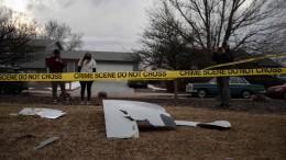 Flugzeugteile stürzen in Colorado vom Himmel