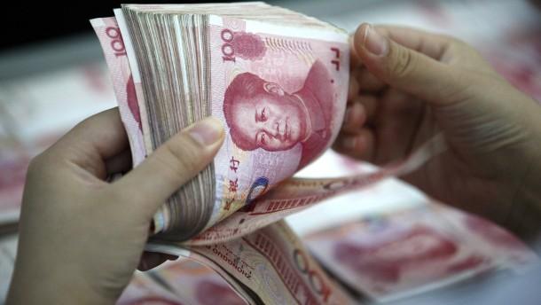 Amerika spricht China vom Vorwurf der Währungsmanipulation frei