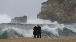 """""""Ophelia"""" auf dem Weg zum Hurrikan – und in Richtung Portugal"""