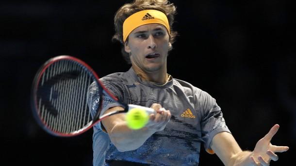 Zverev verpasst vorzeitigen Halbfinal-Einzug