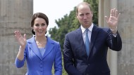 Die Royals treffen Bundespräsident Steinmeier