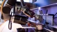 Wenn der Roboter das Sushi macht