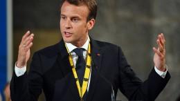 """Macron kritisiert """"Politik des Schlechten und Schlimmeren"""" in Nahost"""