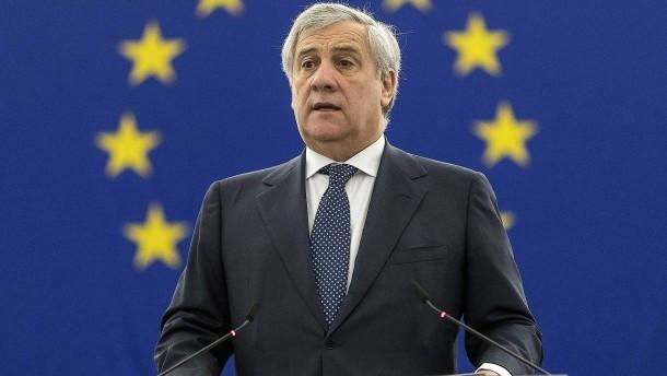 EU-Parlamentspräsident: Mussolini hat auch Gutes getan