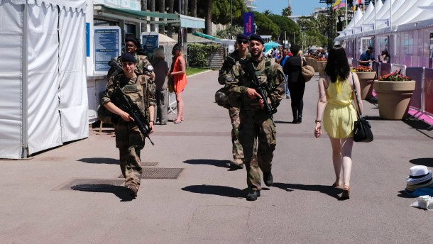 Vor dem Filmfestival: Cannes rüstet auf