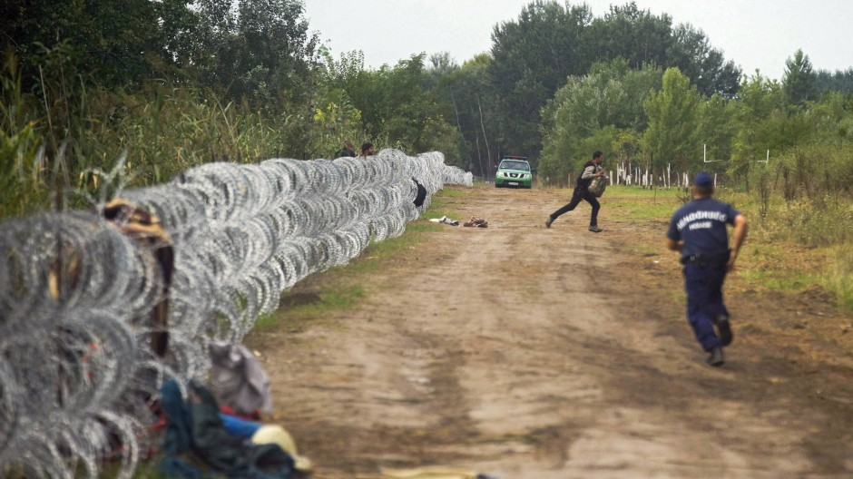 Nicht alle Flüchtlinge kann der Zaun stoppen.