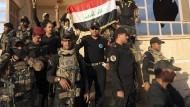 Irakische Armee erobert christliche Dörfer zurück