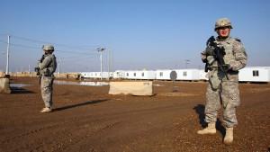 Raketenangriff auf von Amerika genutzten Stützpunkt im Irak