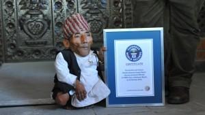 Kleinster Mann der Welt gestorben