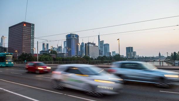 Frankfurt muss 2019 Dieselfahrverbot einführen