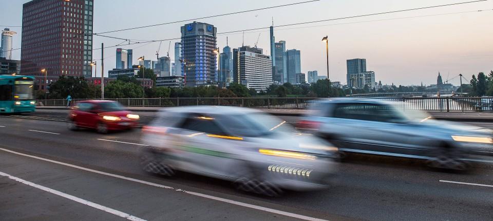 Dieselfahrverbot für Frankfurt kommt 2019