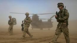 Nato und Amerika ziehen Truppen aus Afghanistan ab