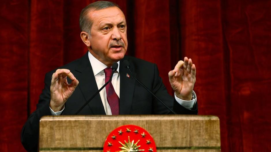"""""""Staatspräsident Erdogan hat schon mehrmals durchblicken lassen, das Abkommen aufkündigen zu wollen."""""""
