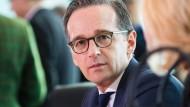 Spendabel im Umgang mit fremdem Eigentum: Justizminister Heiko Maas (SPD)