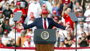 """Donald Trump: """"Wir machen nie wieder einen Lockdown"""""""