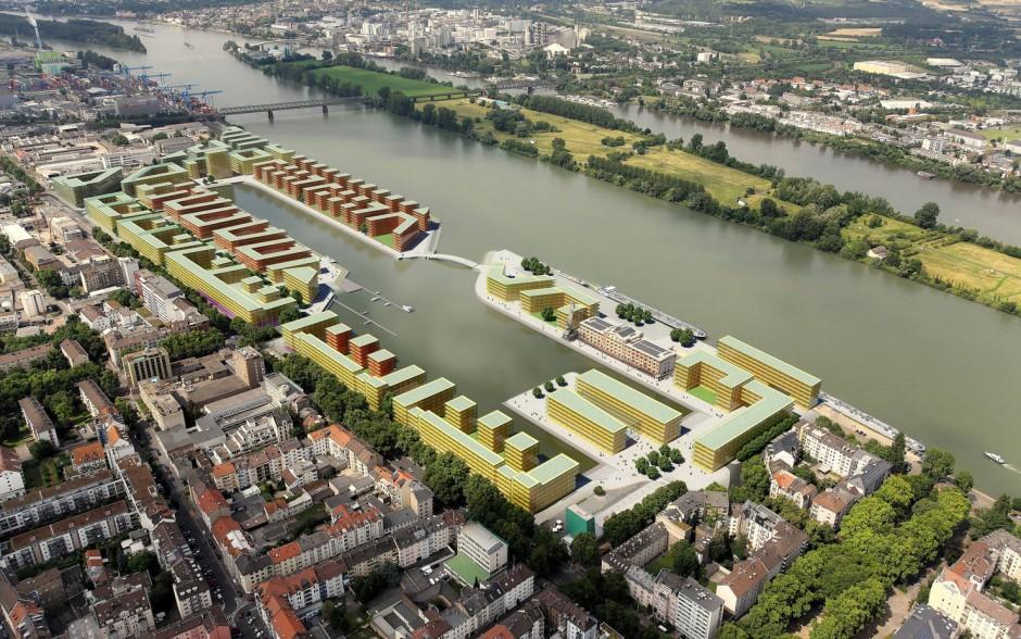 Bild Zu Mainzer Zollhafen Neues Stadtquartier An