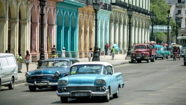 Alle fliegen auf Kuba