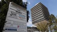 Das Konsulat des Staates Eritrea in der Frankfurter Lyoner Straße