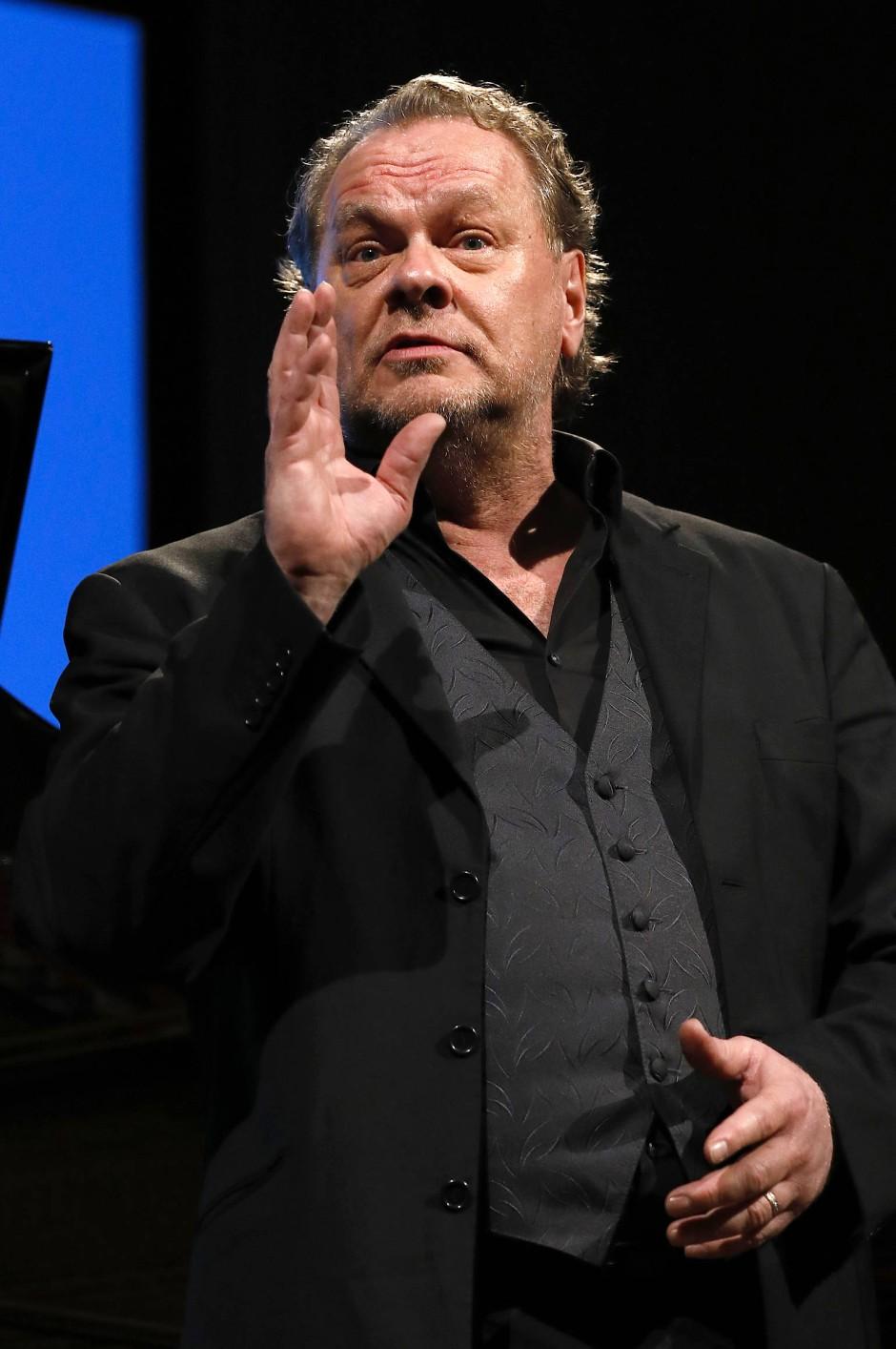 Elf Wochen Zwangspause: Michael Volle singt in Wiesbaden.