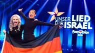 """Das Duo """"S!sters"""" gewinnt den deutschen Vorentscheid zum Eurovision Song Contest."""