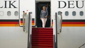 Merkel trifft Putin und Erdogan in China