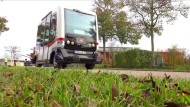 Bahn nimmt selbstfahrenden Bus in Betrieb