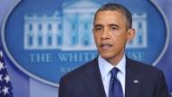 US-Präsident Obama und andere haben sich nach dem Anschalg auf den Boston-Marathon bestürzt gezeigt.