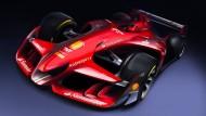 Blick in die Zukunft: Die neuen Formel-1-Boliden sollen deutlich schneller werden.