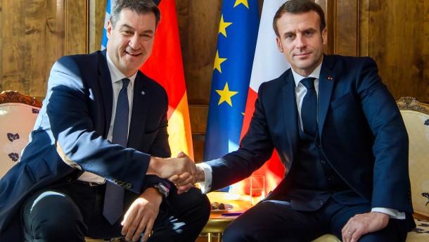Macron setzt auf Söder