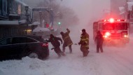 Monster-Blizzard legt Amerikas Ostküste lahm