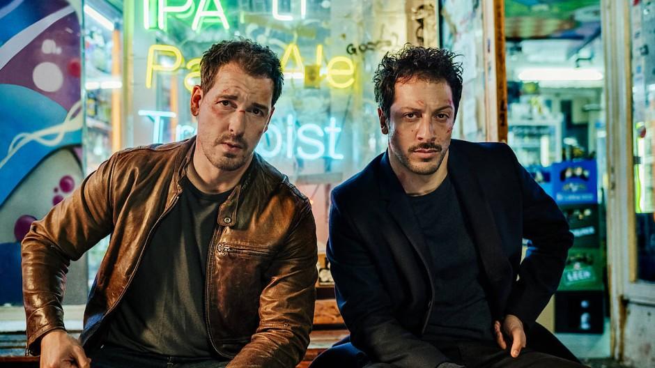 """Felix Kramer und Fahri Yardim spielen in """"Dogs of Berlin"""" die Herren von der Soko """"Rote Karte"""""""