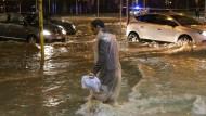 Fünf Tote bei Unwettern in Norditalien