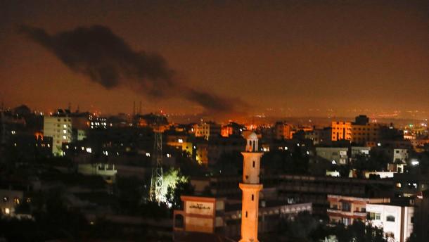 Israel greift Ziele der Hamas im Gazastreifen an