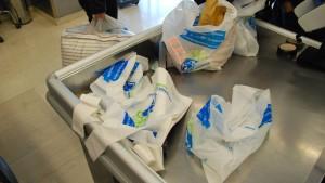 Verbrauch von Plastiktüten in Deutschland geht zurück