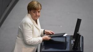 Europa müht sich um klare Kante
