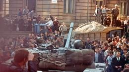 """""""Prager Frühling"""" vor 50 Jahren niedergeschlagen"""