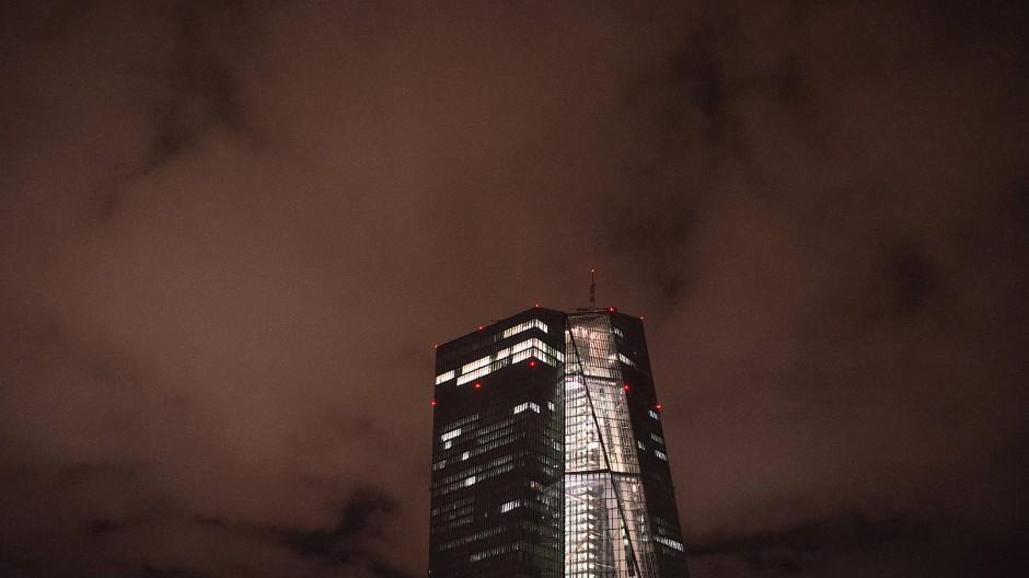 Düster: Europäische Zentralbank in Frankfurt am Main