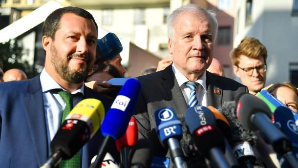 Salvini: Bisher kein Abkommen mit Deutschland