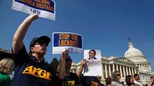 Blockade in Washington erreicht Europa