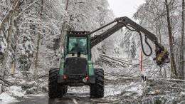 Bayern versinkt weiter im Schnee