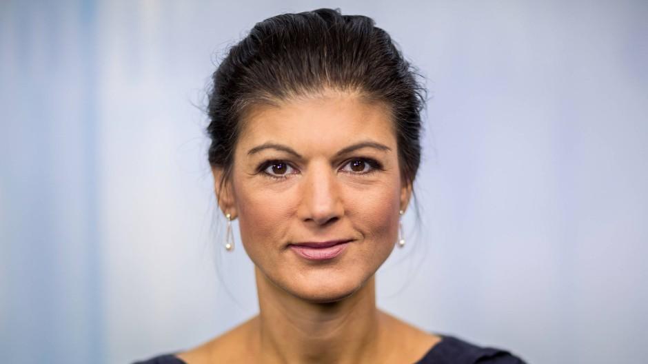 Bietet den Lesern eine andere als die meist erwartete Art von Linkheit an: Sahra Wagenknecht