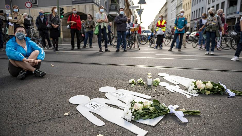 Im September: Mahnwache zum Jahrestag des SUV-Unfalls in der Invalidenstraße