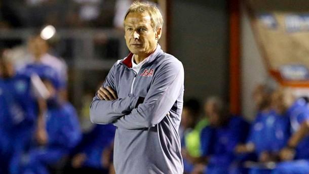 Herber Rückschlag für Klinsmann