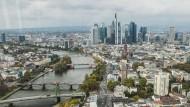 Gute Aussichten: zumindest aus dem 41. Stockwerk der neuen EZB-Zentrale in Frankfurt