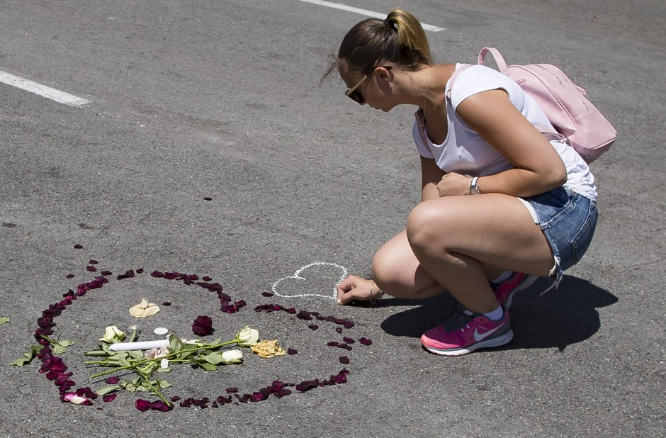 Trauernde Frau in Nizza: Frankreich ist in den letzten beiden Jahren das häufigste Anschlagsziel in Westeuropa